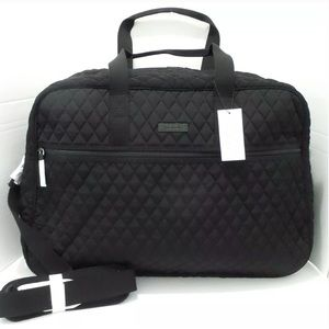 NEW Classic Black VERA BRADLEY Grand Traveler Bag